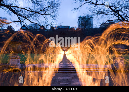fireart - Stock Image