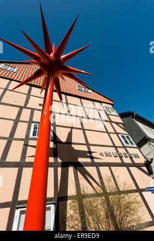 Bomann museum in Celle, Lower Saxony, Germany, Europe - Stock Image