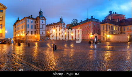 Birger Jarls torg in Stockholm, Sweden - Stock Image