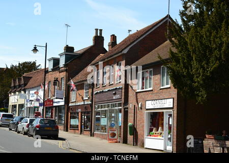Wendover town centre, Buckinghamshire, UK - Stock Image