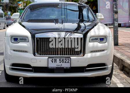 Rolls Royce Wraith 2017 - Stock Image