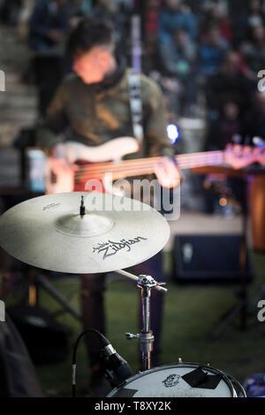 Zildjian A Rock Crash Cymbal. - Stock Image