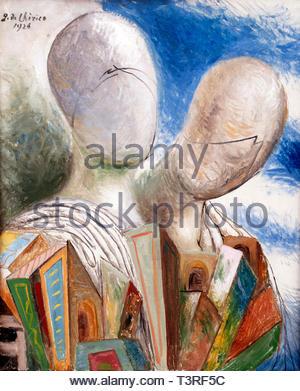 The Husband 1926  by Giorgio de Chirico 1888 born in Greece Italian artist and writer . (Italy) - Stock Image