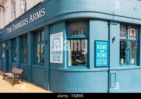 The Tanners Arms pub, Ouseburn, Newcastle upon Tyne, England. UK - Stock Image