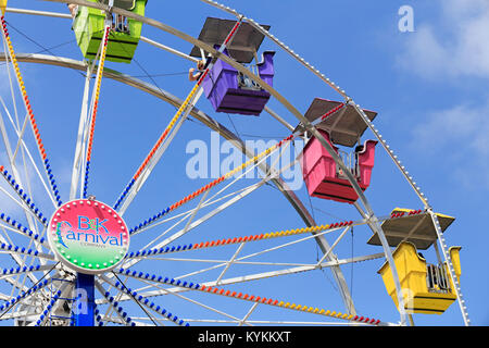 Ferris wheel detail - Stock Image