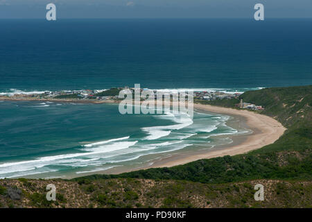 Brenton-on-Sea on the Garden Route in South Africa. - Stock Image