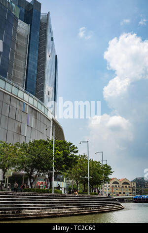 Marina Bay in Singapore - Stock Image