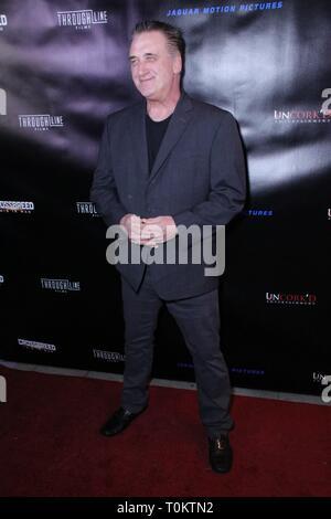 'Crossbreed' Premiere - Arrivals  Featuring: Daniel Baldwin Where: Beverly Hills, California, United States When: 06 Feb 2019 Credit: WENN.com - Stock Image