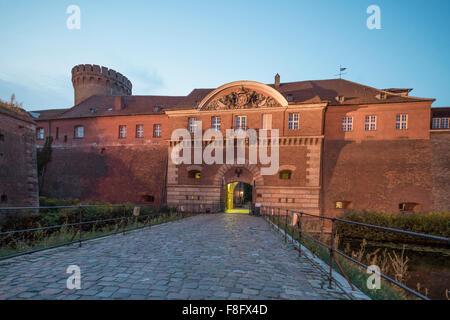 Spandau Citadel ,  Berlin Germany - Stock Image