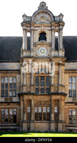 Oxford University Examination Schools and Clock Tower, Merton Street, Oxford, Oxfordshire, UK. - Stock Image