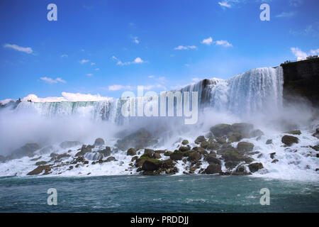 Bautiful view of Niagara Falls, New York State, USA - Stock Image