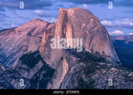 Half Moon Mountain, Yosemite, California - Stock Image