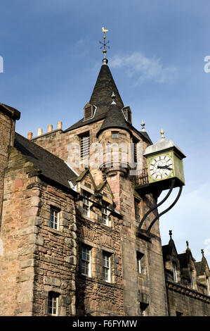 The Tolbooth Canongate on the Royal Mile in Edinburgh - Stock Image