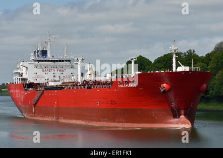 Chemical/Oil Products Tanker King Emerald - Stock Image