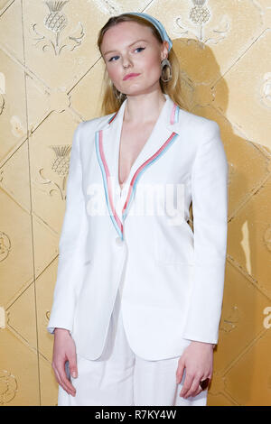 London, UK. 10th Dec 2018. Maria-Victoria Dragus at Mary Queen Of Scots European Premiere on Monday 10 December 2018 held at Cineworld Leicester Square, London. Pictured: Maria-Victoria Dragus. Credit: Julie Edwards/Alamy Live News - Stock Image