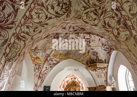 Vrangstrup church - Stock Image
