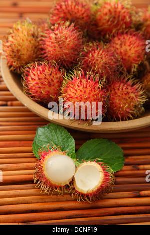 Rambutan - Stock Image