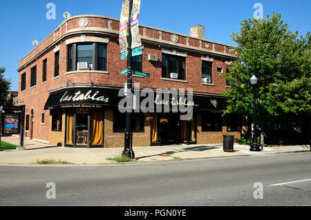 Columbian Steakhouse on Irving park Road in Chicago, Illinois, - Stock Image