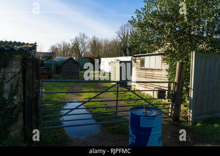 Farm homestead - Stock Image