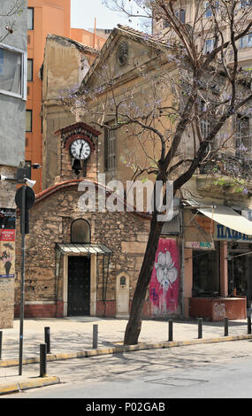 Church in Iera Odos street, Athens - Stock Image