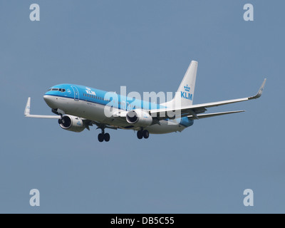 PH-BXW KLM Royal Dutch Airlines Boeing 737-8K2(WL) - cn 30360 1 - Stock Image