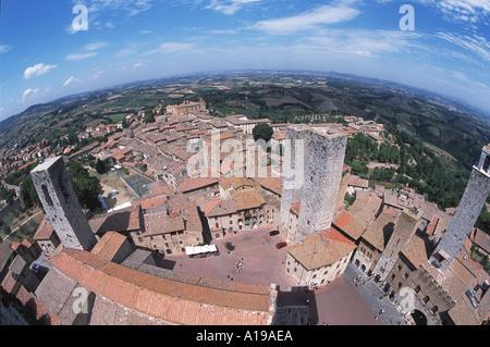 Tuscany Italy - Stock Image