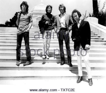 The Doors.Jim Morrison, John Densmore, Ray Manzarek, Robby Krieger. Credit: 385572_Globe Photos/MediaPunch - Stock Image
