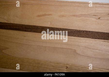 black walnut, cutting board, maple, wood - Stock Image