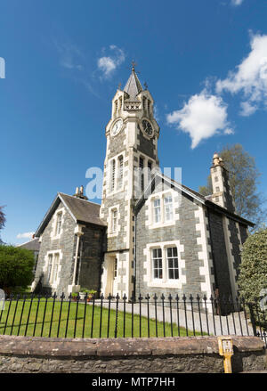 Tower House, Moniaive, Dumfries and Galloway, Scotland, UK - Stock Image