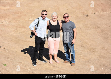 tourists in israel - Stock Image