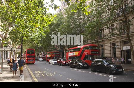 View along Norhumberland Avenue London August 2018 - Stock Image