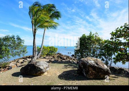 Scenic view of Portland Roads, Cape York Peninsula, Far North Queensland, FNQ, QLD, Australia - Stock Image