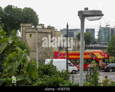Tower of London Castle England - Stock Image