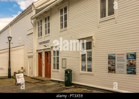 Fisheries Museum At The Harbour, Alesund, Norway - Stock Image