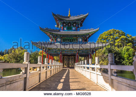 Moon Embracing Pagoda, Lijiang, China - Stock Image