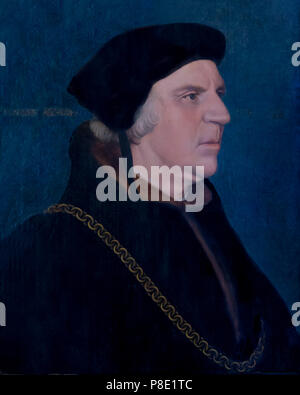 Portrait of Sir William Butts, Hans Holbein the Younger, circa 1543, Isabella Stewart Gardner Museum, Boston, Mass, Massachusetts, North America, US,  - Stock Image