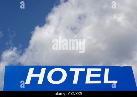 Hotel Sign - Stock Image