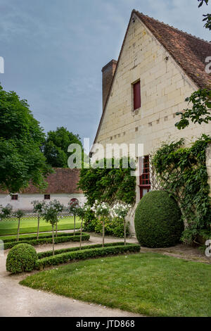 Farm House Chenonceau Loire Valley France - Stock Image
