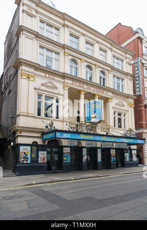 The Duke of York's Theatre in St. Martin's Lane, London, England, UK - Stock Image
