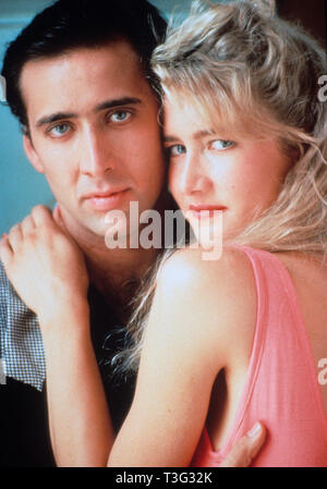 WILD AT HEART 1990 PolyGram film with Nicholas Cage and Laura Dern - Stock Image