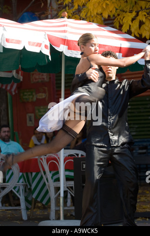 Professional tango dancers in Buenos Aires D - Stock Image