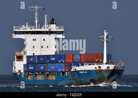 Containerfeeder Marja - Stock Image