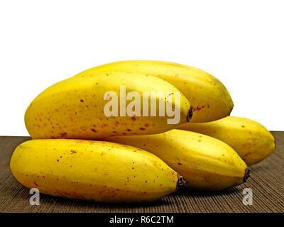 Close-Up Of A A Ripe Banana - Stock Image
