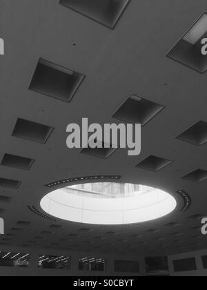 Skylight ceiling interior of Solid Square building in Kawasaki City, Kanagawa Prefecture, Japan. - Stock Image