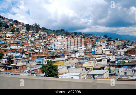 Shanty Town Caracas, Venezuela - Stock Image