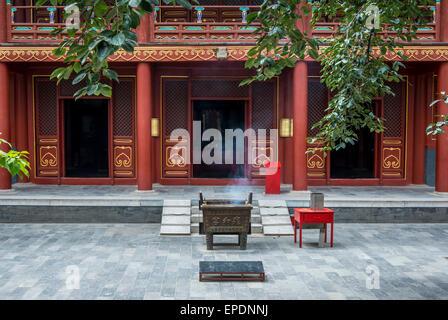 Yonghegong, Lama Temple, Beijing, China - Stock Image