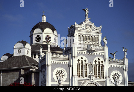 Costa Rica Cartago cathedral  - Stock Image