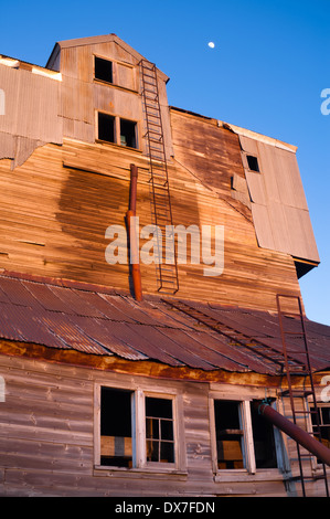 An Old Agricultural Structure Still Stands - Stock Image