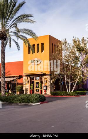 Lazy Dog Restaurant & Bar exterior in Irvine California USA a dog friendly resraurant - Stock Image