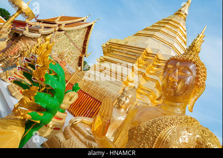 Sloping yellow roof tiles at the Forbidden City, Beijing - Stock Image